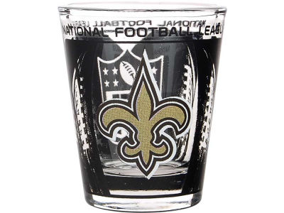 New Orleans Saints 3D Wrap Color Collector Glass