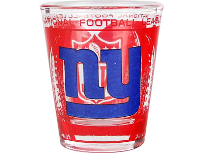 New York Giants 3D Wrap Color Collector Glass