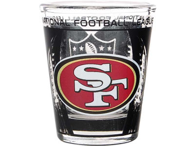San Francisco 49ers 3D Wrap Color Collector Glass