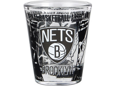 Brooklyn Nets 3D Wrap Color Collector Glass