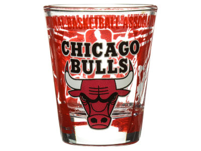 Chicago Bulls 3D Wrap Color Collector Glass