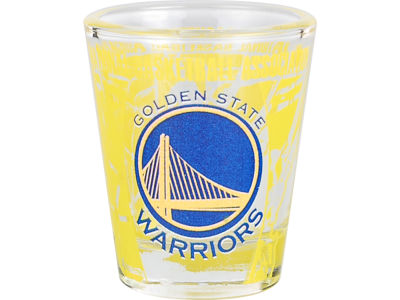 Golden State Warriors 3D Wrap Color Collector Glass