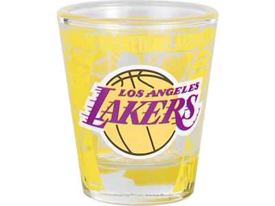 Los Angeles Lakers 3D Wrap Color Collector Glass