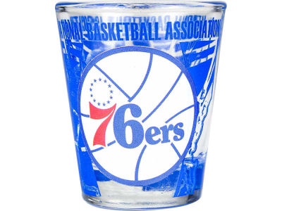 Philadelphia 76ers 3D Wrap Color Collector Glass