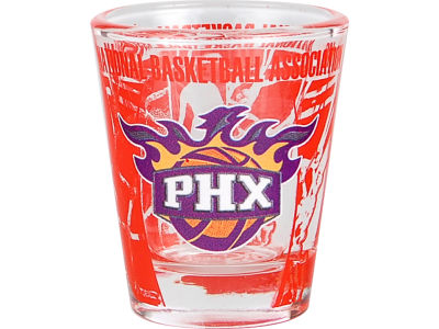 Phoenix Suns 3D Wrap Color Collector Glass