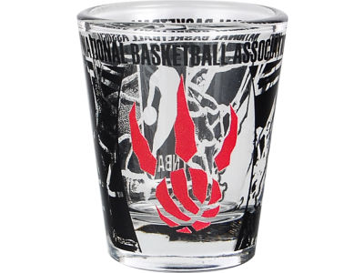 Toronto Raptors 3D Wrap Color Collector Glass