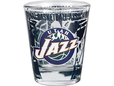 Utah Jazz 3D Wrap Color Collector Glass