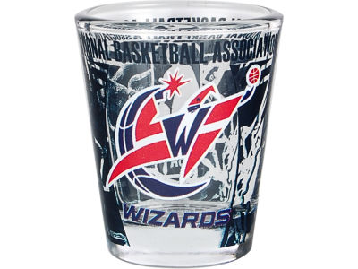 Washington Wizards 3D Wrap Color Collector Glass