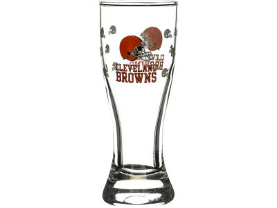Cleveland Browns Satin Etch Mini Pilsner