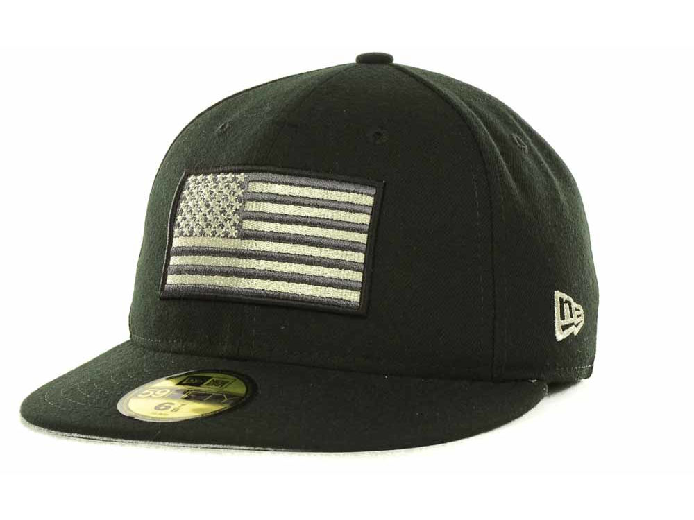 New Era Metallic American Flag 59FIFTY Cap  0b743d4bc31d
