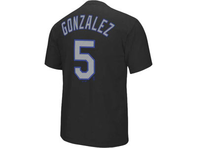 Colorado Rockies Carlos Gonzalez Majestic MLB Youth Player T-Shirt