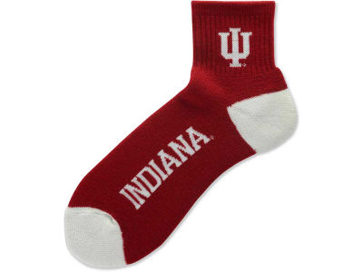 Indiana Hoosiers For Bare Feet Ankle TC 501 Socks