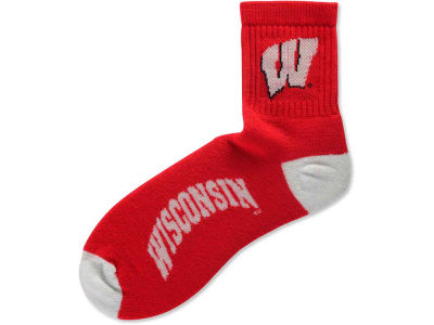 Wisconsin Badgers For Bare Feet Ankle TC 501 Socks
