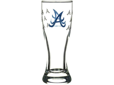 Atlanta Braves Satin Etch Mini Pilsner