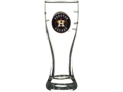 Houston Astros Satin Etch Mini Pilsner
