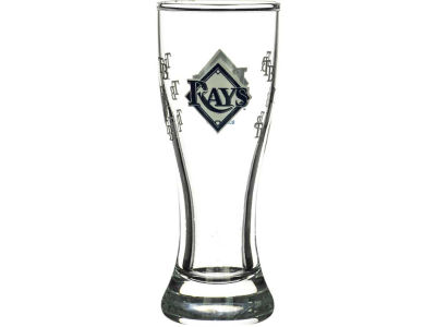 Tampa Bay Rays Satin Etch Mini Pilsner