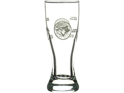 Toronto Blue Jays Satin Etch Mini Pilsner