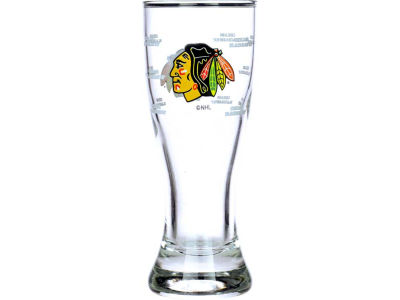 Chicago Blackhawks Satin Etch Mini Pilsner