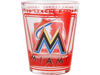 Miami Marlins 3D Wrap Color Collector Glass