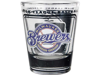 Milwaukee Brewers 3D Wrap Color Collector Glass