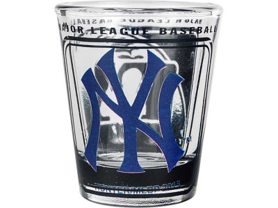 New York Yankees 3D Wrap Color Collector Glass