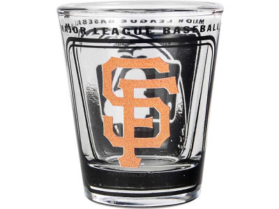 San Francisco Giants 3D Wrap Color Collector Glass