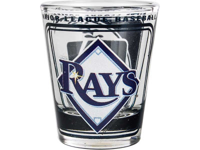 Tampa Bay Rays 3D Wrap Color Collector Glass