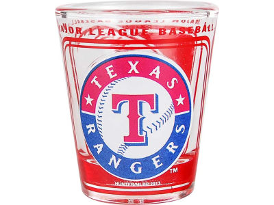 Texas Rangers 3D Wrap Color Collector Glass