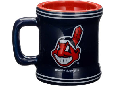 Cleveland Indians 2oz Mini Mug Shot