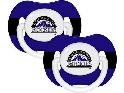 Colorado Rockies 2-pack Pacifier Set