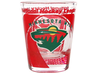 Minnesota Wild 3D Wrap Color Collector Glass