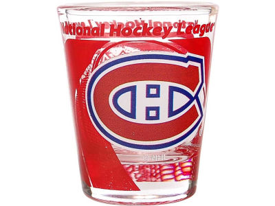 Montreal Canadiens 3D Wrap Color Collector Glass