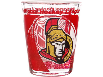 Ottawa Senators 3D Wrap Color Collector Glass