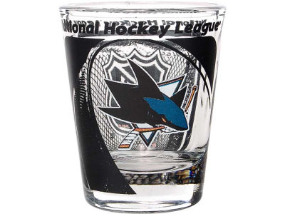 San Jose Sharks 3D Wrap Color Collector Glass