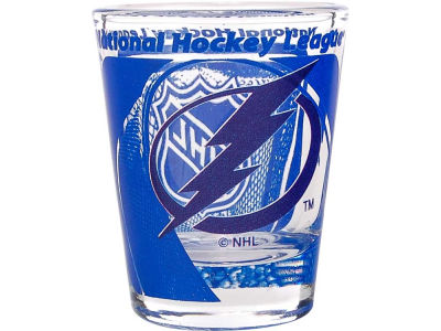 Tampa Bay Lightning 3D Wrap Color Collector Glass