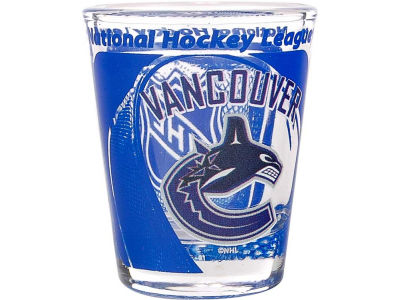 Vancouver Canucks 3D Wrap Color Collector Glass