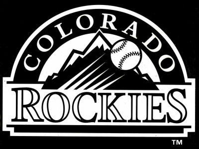 "Colorado Rockies Die Cut Decal 8""x8"""