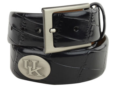 Kentucky Wildcats Leather Belt