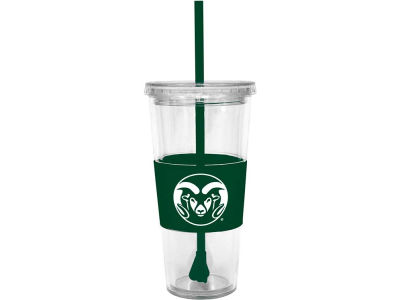 Colorado State Rams 22oz. Tumbler with Straw
