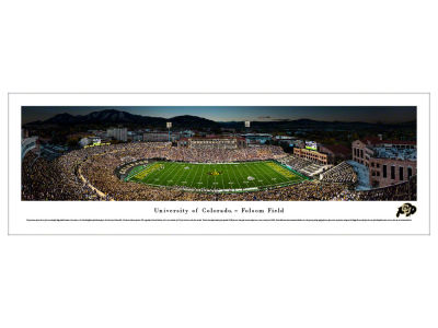 Colorado Buffaloes Panoramic Deluxe Framed