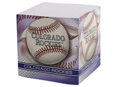 Colorado Rockies Sticky Note Cube
