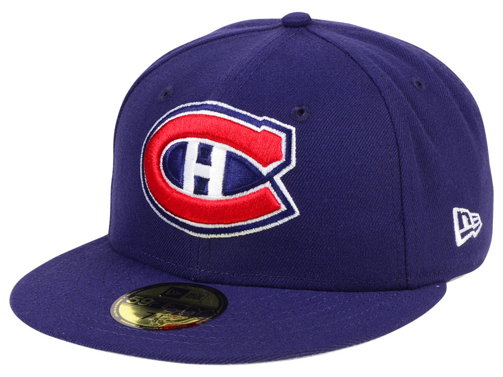 Montreal Canadiens New Era NHL Basic 59FIFTY Cap  f8dadacb3