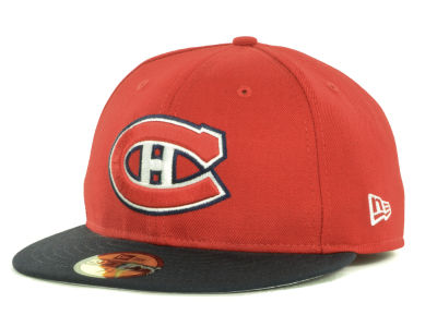 Montreal Canadiens New Era NHL Basic 59FIFTY Cap
