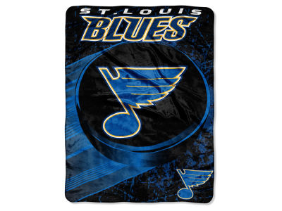 "St. Louis Blues Micro Raschel 46x60 ""Ice Dash"""