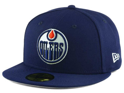 Edmonton Oilers New Era NHL Basic 59FIFTY Cap
