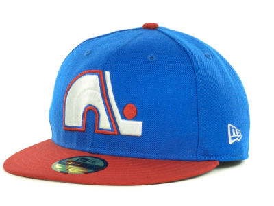 Quebec Nordiques New Era NHL Basic 59FIFTY Cap