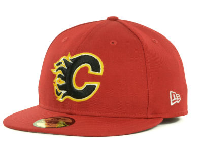 Calgary Flames New Era NHL Basic 59FIFTY Cap
