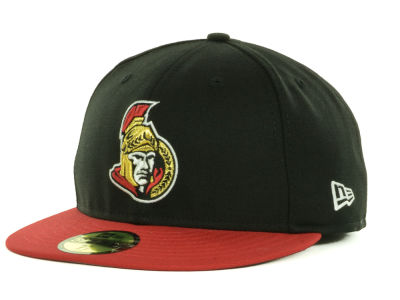 Ottawa Senators New Era NHL Basic 59FIFTY Cap
