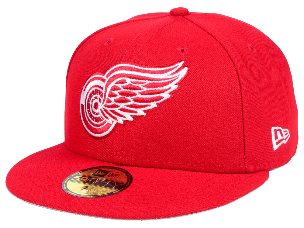 Detroit Red Wings New Era NHL Basic 59FIFTY Cap  0c865e8f68