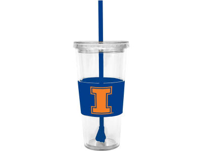 Illinois Fighting Illini 22oz. Tumbler with Straw